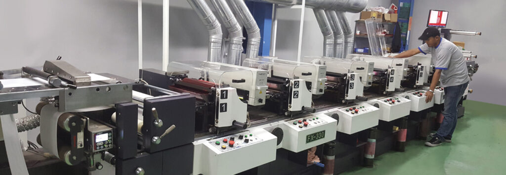 Print with The Latest Technology Flexo Machine